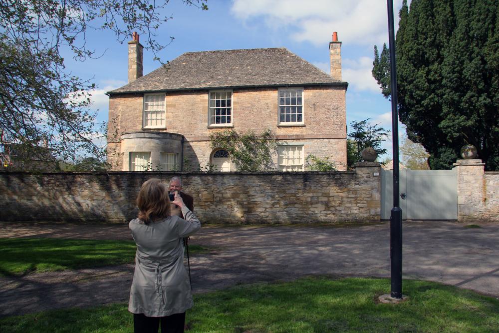Mrs Crawley's house, Bampton