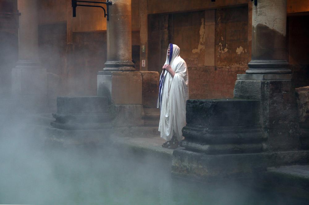Priest in the Roman Baths