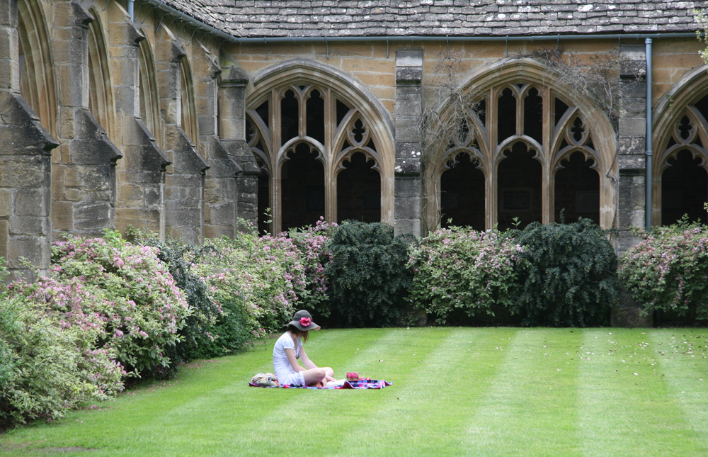 Oxford - New College Cloister