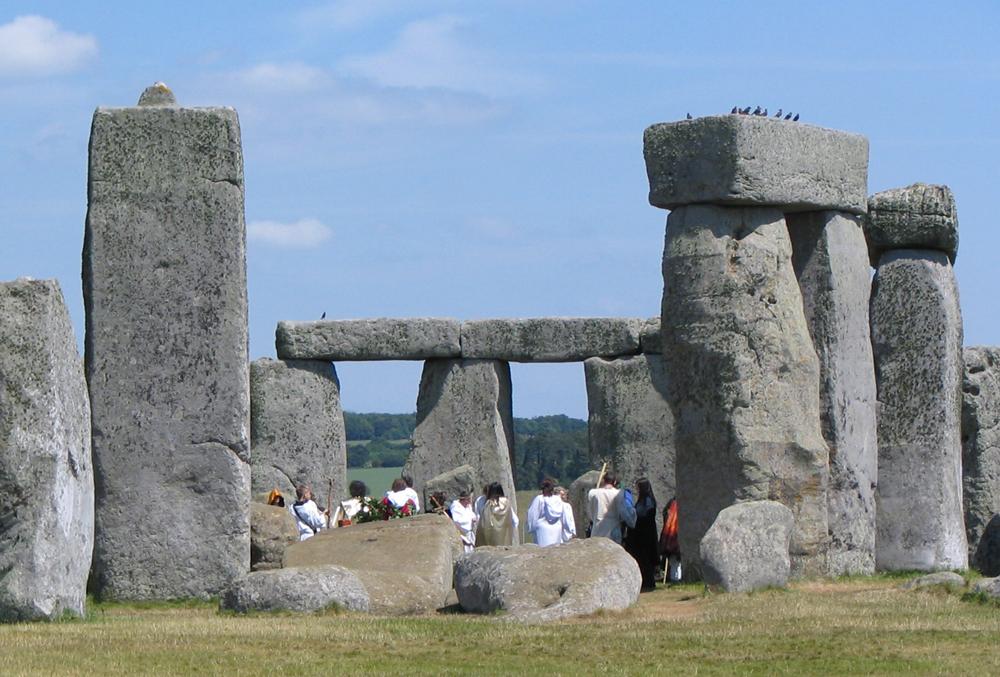 Druid ceremony at Stonehenge
