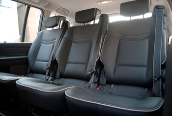 Car with 4 passenger seats
